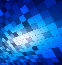 Abstract squares blue background vector