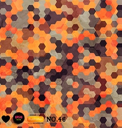 Mosaic tiled background vector