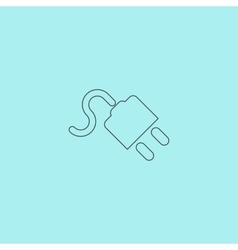 Power cord vector