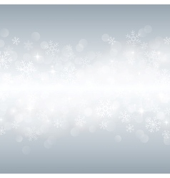 beautiful various snowflakes vector image