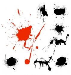 blots vector image vector image