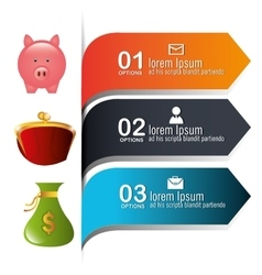 Money and business design vector