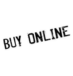 buy online rubber stamp vector image vector image