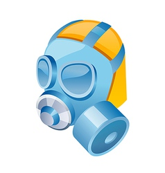 icon gas mask vector image vector image