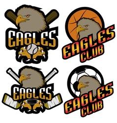 Sets professional logo sport vector