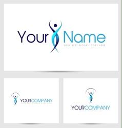 Silhouette logo creative vector