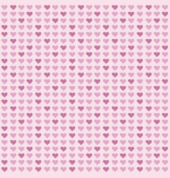 126 seamless abstract pattern with hearts vector