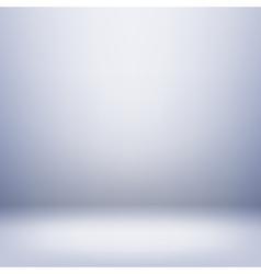 Light studio room vector image