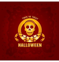 Beautiful halloween background vector