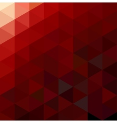 Abstract Red Geometrical Background vector image vector image