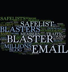 Free blasters blog blaster traffic blasters vector