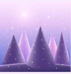 greeting background merry christmas vector image