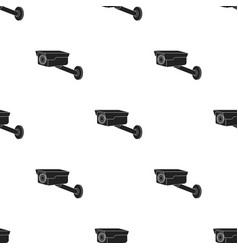 Hidden camera icon in black style isolated on vector