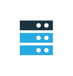 Server colorful icon symbol premium quality vector