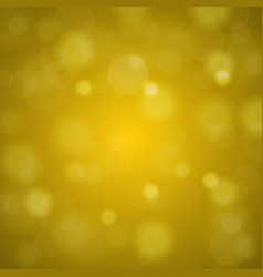 shiny bright golden lights blurred background vector image vector image