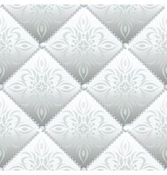 Silver glamor seamless vector image