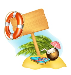 Summer Icon vector image vector image