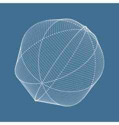 Lattice geometric polygonal element grid vector