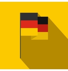 Germany flag icon flat style vector