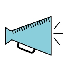 director megaphone isolated icon design vector image