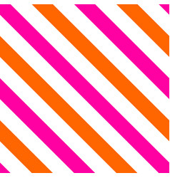 Tile pattern with pink and orange stripes vector