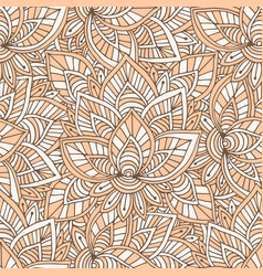 Ornamental indian pattern seamless texture for vector