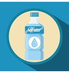 Water concept design vector image
