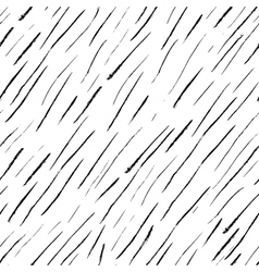 Abstract seamless ink pattern isolated on white vector
