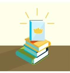 Education book vector