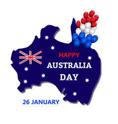 australia day theme vector image