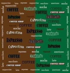 coffee Wallpaper 02 vector image