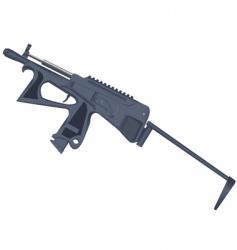 Gun weapons vector