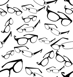 Seamless Spectacle Pattern vector image