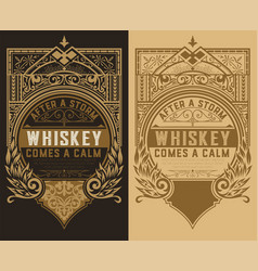 Set of 2 labels vector