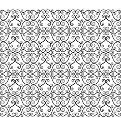 twirl pattern vector image vector image