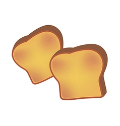 Icon bread vector