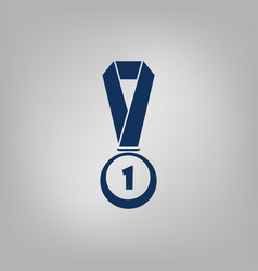 Icon of trophy and award vector
