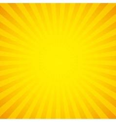 sunburst background design vector image