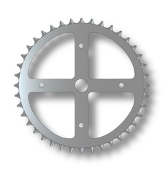 Bicycle cog vector
