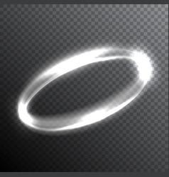 abstract glowing circle vector image vector image