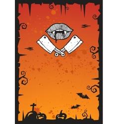 Halloween Background 2012 vector image vector image