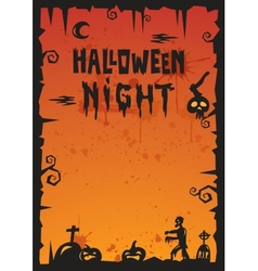 Halloween background 2012 vector