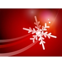 Christmas red abstract background with white vector