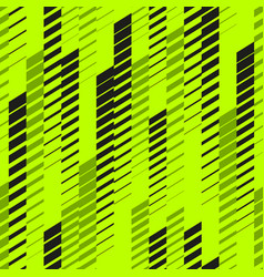 Abstract neon sport pattern with fading lines vector