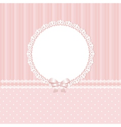 Baby pink background vector image vector image