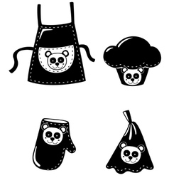 clothing cooking vector image vector image