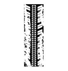 figure car trace icon vector image