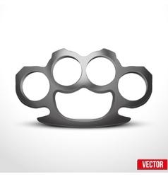 Metal Brassknuckles vector image