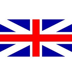 Flag of united kingdom vector