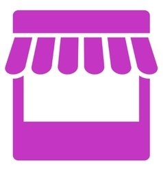 Store icon from business bicolor set vector